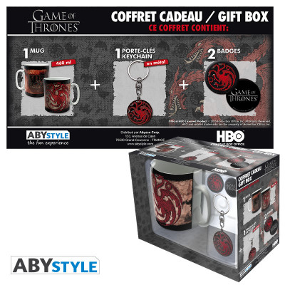 Game of Thrones Targaryen Geschenk-Box