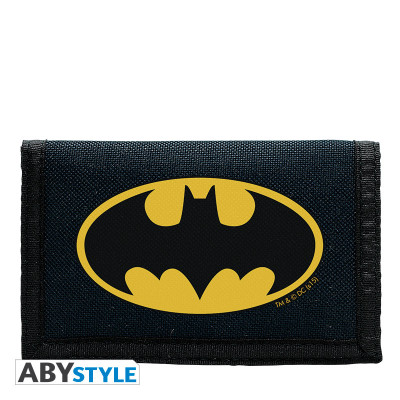 Batman Logo Blau Geldbörse