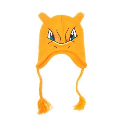 Pokemon Glurak Laplander Beanie Mütze