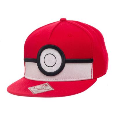 Pokemon 3D Pokeball Snapback Kappe