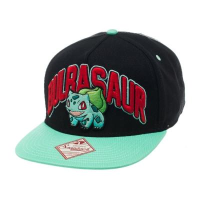 Pokemon Bisasam Bulbasaur Snapback Kappe