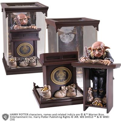 Harry Potter Magical Creatures Gringotts Goblin 19 cm Figur