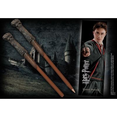 Harry Potter Zauberstab Stift mit Lesezeichen