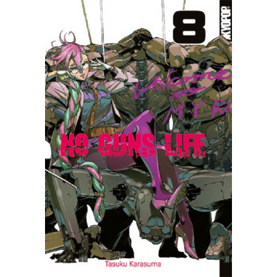 No Guns Life 8 Manga