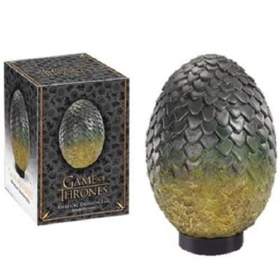 Game of Thrones Rhaegal Drachenei grün 19,5cm