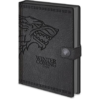 Game of Thrones Stark A5 Premium Notizbuch