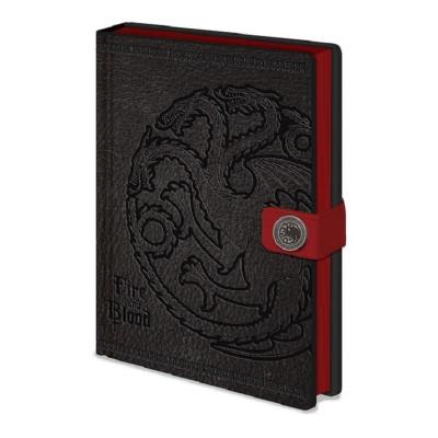 Game of Thrones Targaryen A5 Premium Notizbuch
