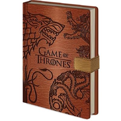 Game of Thrones Sigil A5 Premium Notizbuch