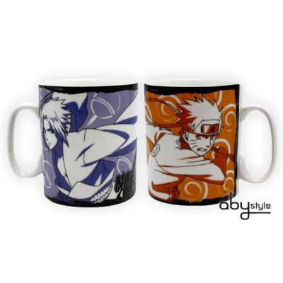 Naruto Sasuke & Naruto 460ml Tasse
