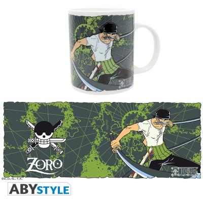One Piece Zorro Green 320ml Tasse