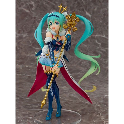 PREORDER ♦ Hatsune Miku GT Project PVC Statue 1/7 Racing Miku 2018: Challenging to the TOP 23 cm Figur