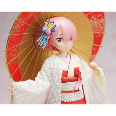 PREORDER ♦ Re:ZERO -Starting Life in Another World- PVC Statue 1/7 Ram -Shiromuku- 24 cm Figur