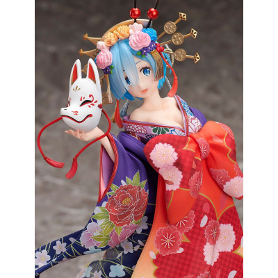 PREORDER ♦ Re:ZERO -Starting Life in Another World- PVC Statue 1/7 Rem -Oiran Dochu- 25 cm Figur