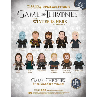 Game of Thrones The Winter is here Collection Titan Zufall Sammelfigur