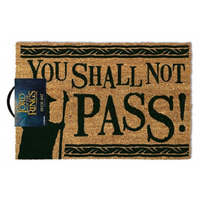Herr der Ringe You Shall Not Pass 40 x 60 cm Fußmatte