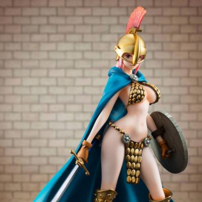 PREORDER ♦ One Piece Excellent Model P.O.P Sailing Again PVC Statue 1/8 Gladiator Rebecca 22 cm Figur
