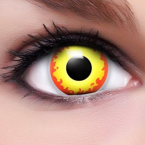 manga fire eyes kontaktlinsen cosplay. Black Bedroom Furniture Sets. Home Design Ideas
