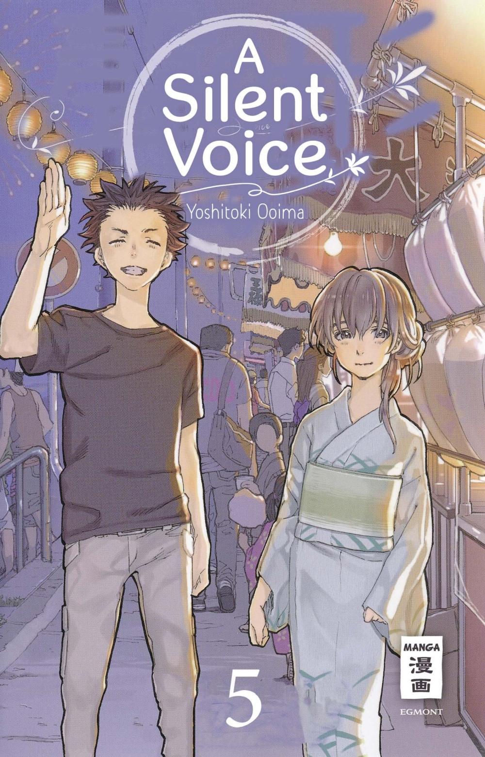 manga-mafia de - a silent voice 5 manga