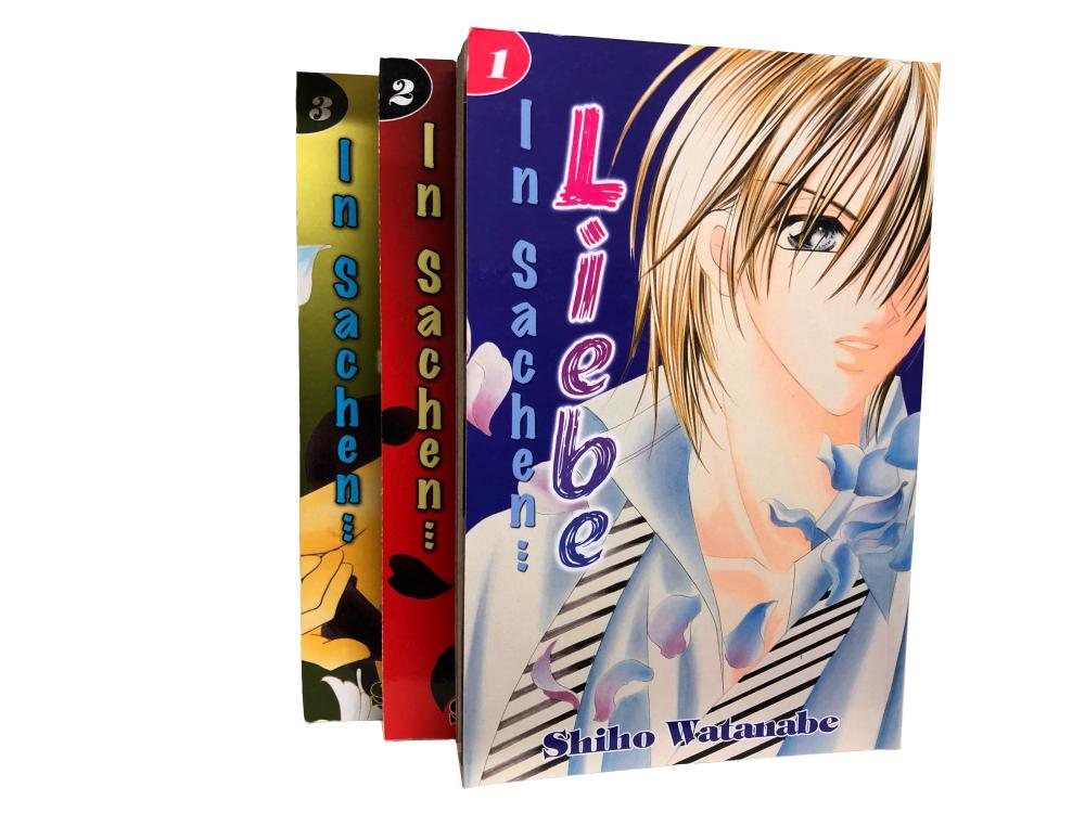 In Sachen... 1-3 Manga Serie (gebraucht)