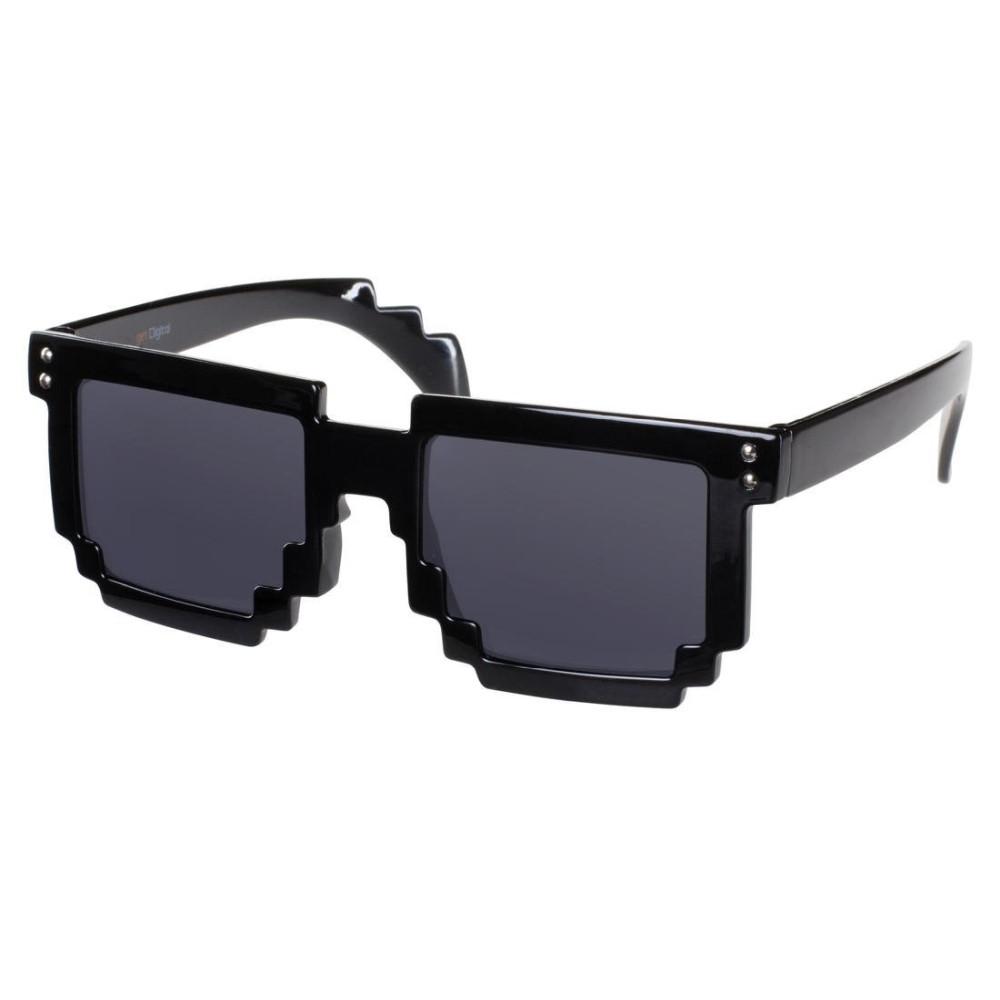 8 Bit Pixel Sonnenbrille Schwarz IqPonc3