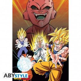 Dragon Ball Z Buu Vs Saiyans Poster
