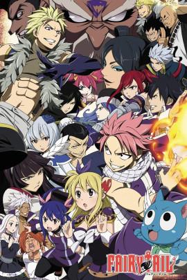 Fairy Tail Season 6 Group Poster