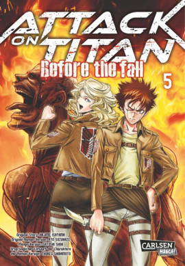 Attack on Titan - Before the Fall 5 Manga