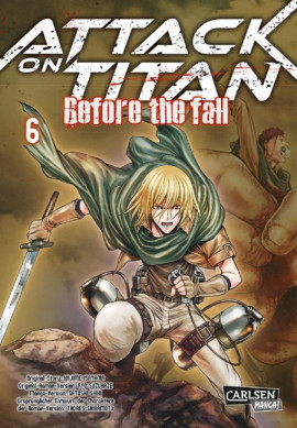Attack on Titan - Before the Fall 6 Manga