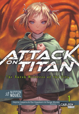 Attack on Titan  - The Harsh Mistress of the City 1 Manga