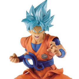 Dragon Ball Super - Super Saiyajin Blue Goku Transcendence Art 18 cm Figur