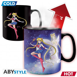 Sailor Moon Magic Mug Sailor & Chibi 460ml Tasse