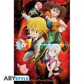 The Seven Deadly Sins Charakter Poster