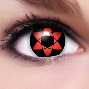 Mangekyou Sharingan Sasuke Uchiha Kontaktlinsen