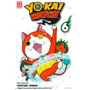 Yo-kai Watch 6 Manga