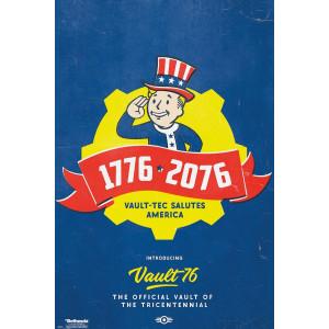 Fallout 76 Dreihundertjahrfeier Poster