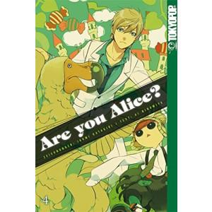 Are you Alice?  4 Manga