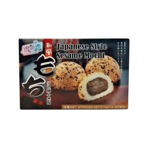 Mochi - Klebreiskuchen - Sesam in Geschenk-Box 210g - Yuki & Love