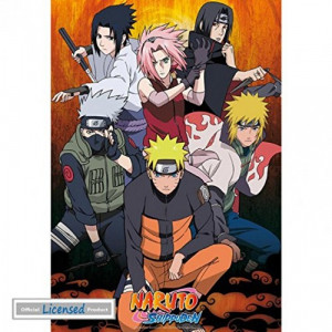 Naruto Shippuden Group  91,5x61cm Poster