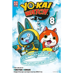 Yo-kai Watch 8 Manga