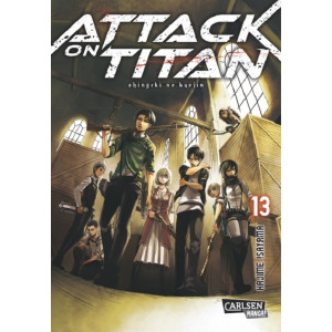Attack on Titan 13 Manga