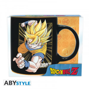 Dragon Ball Z Goku & Vegeta 320ml Tasse