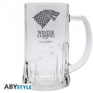 Game Of Thrones Stark 0,5l Bierglas