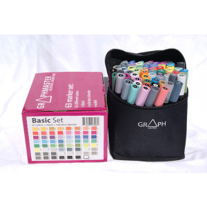 Graphmaster Grafikmarker 63er Basic Set
