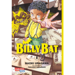 Billy Bat 8 Manga