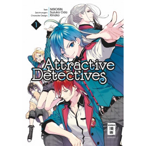 Attractive Detectives 1 Manga