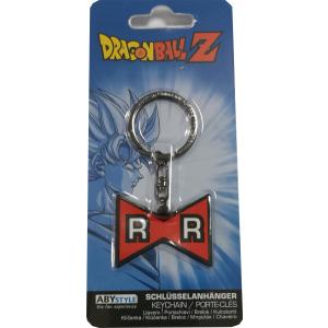 """Dragon Ball Z """"Red Ribbon"""" Logo Gummi-Schlüsselanhänger"""