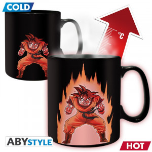Dragon Ball Z Son Goku Magic Mug 460ml Tasse