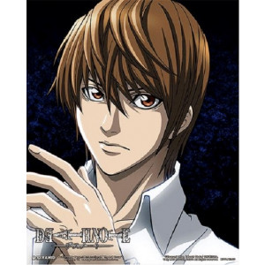 Death Note Light Ryuk Split 26 x 20 cm 3D Rahmenbild