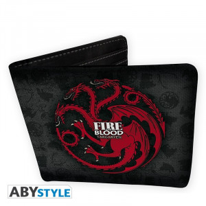 Game of Thrones Targaryen Fire and Blood Portmonee