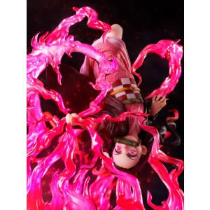 PREORDER - Demon Slayer - Nezuko Kamado - Exploding Blood - 20cm 1/8 Statue